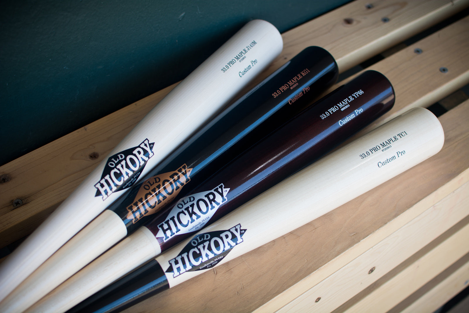 Custom Pro Wood Bats by Old Hickory