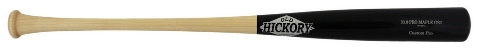 Custom Pro Wood Bat Model GB2 by Old Hickory Bats