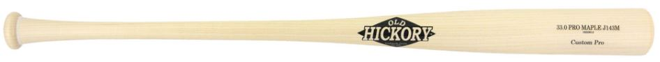 Custom Pro Wood Bat Model J143M by Old Hickory Bats