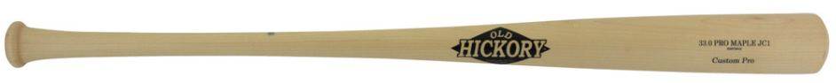 Custom Pro Wood Bat Model JC1 by Old Hickory Bats