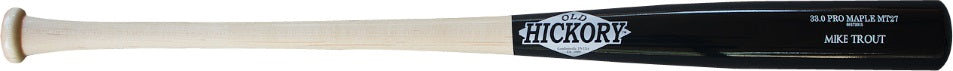 Custom Pro Wood Bat Mike Trout MT27 by Old Hickory Bats