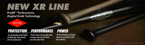 Pro XR Angled Knob technology from Old Hickory Bats