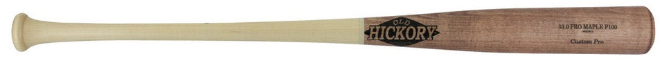 Custom Pro Wood Bat Model P100 by Old Hickory Bats