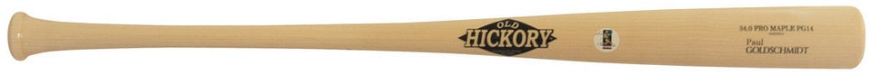 Custom Pro Wood Bat Paul Goldschmidt PG44 by Old Hickory Bats
