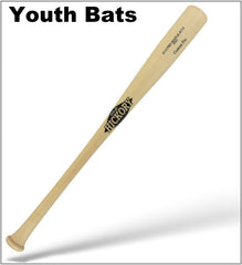 Youth wood bats by Old Hickory Bats