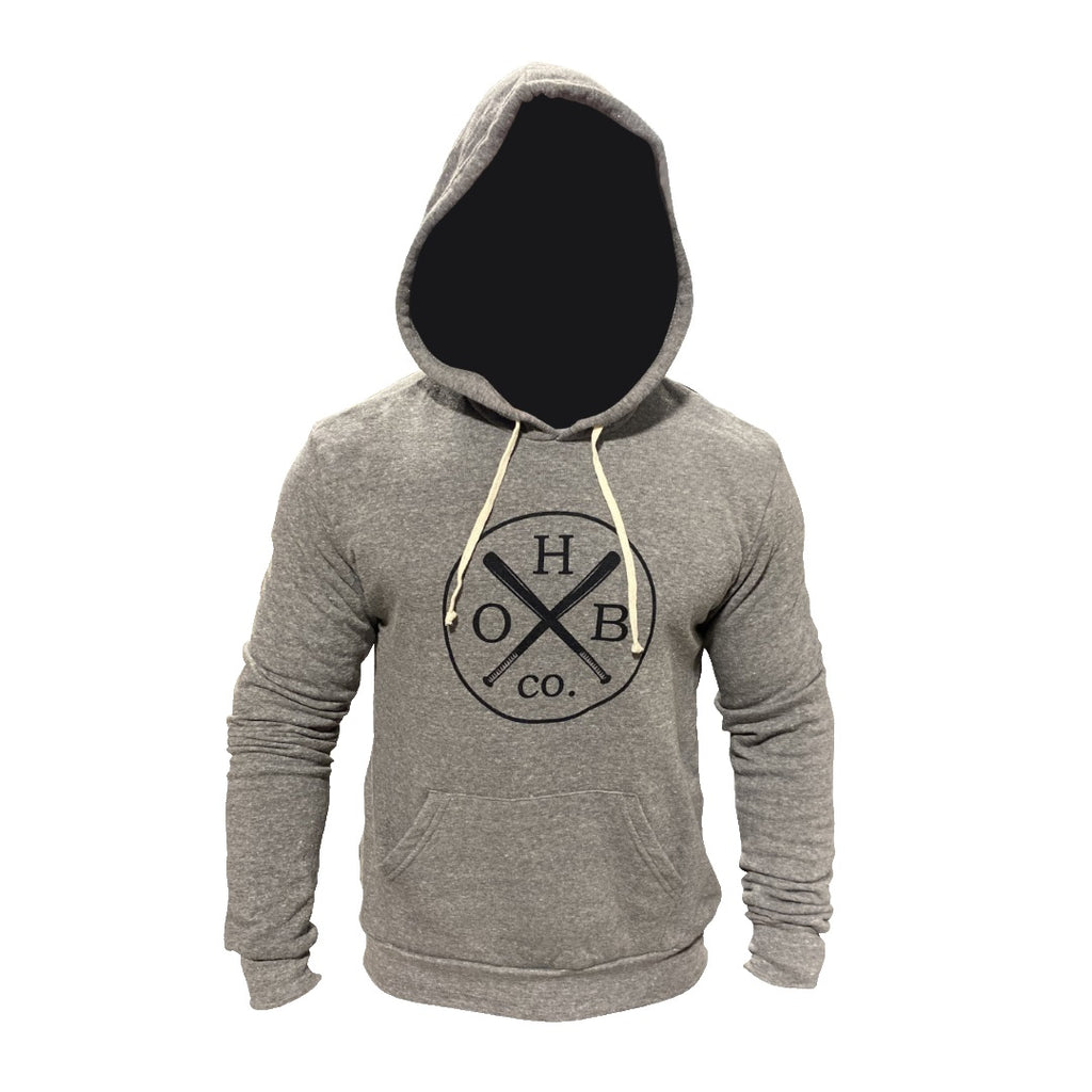 OHBC Vintage Logo Long Sleeve Hooded Sweatshirt