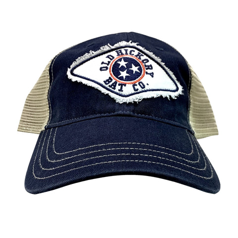Navy Tennessee Patch Adjustable Cap