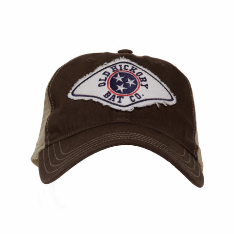 Brown Tennessee Patch Adjustable Cap