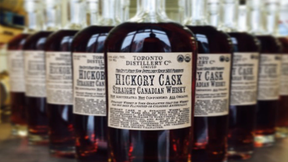Hickory Cask Straight Canadian Whisky Organic