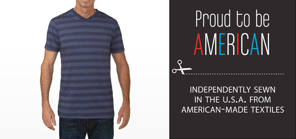 Altus tall and extra tall mens apparel and clothing made in the USA