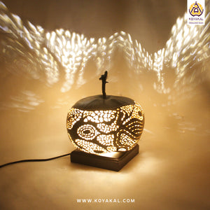 Table lamp, Gifts for her, Gifts for him, Best birthday Gifts 2019, Unique Gift, Gifting Solutions, Lighting lamps, Handicrafts, Handmade, Gourd Lamp, Koyaka Craft, Home Decor, Life Style, Interiors, Interior decoration