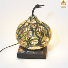Load image into Gallery viewer, Perfect Gift| Unique Gifts for her| Valentine's Day Gifts| Best Birthday Gifts 2019| Handicrafts| Handmade| Ecofriendly Products| Gifts for Him| Anniversary Gifts| Organic Homes| Gourd Lamps| Table Lamps| Koyaka Craft| Natural Gifts| DIY| Shopify| Home Decor| Trends