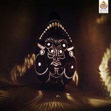 Load image into Gallery viewer, Perfect Gift | Unique Gifts for her | Valentine's Day Gifts | Best Birthday Gifts 2019 | Handicrafts | Handmade | Ecofriendly Products | Gifts for Him | Anniversary Gifts | Organic Homes | Gourd Lamps | Table Lamps | Koyaka Craft | Natural Gifts | DIY | Shopify | Theyyam | Kerala | Karnataka