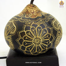 Load image into Gallery viewer, Perfect Gift, Unique Gifts for her, Valentine's Day Gifts, Best Birthday Gifts 2019, Handicrafts, Handmade, Ecofriendly Products, Gifts for Him, Anniversary Gifts, Organic Homes, Gourd Lamps, Table Lamps, Koyaka Craft, NaturaL, Gifts, DIY, Shopify, Home Decor, Trends
