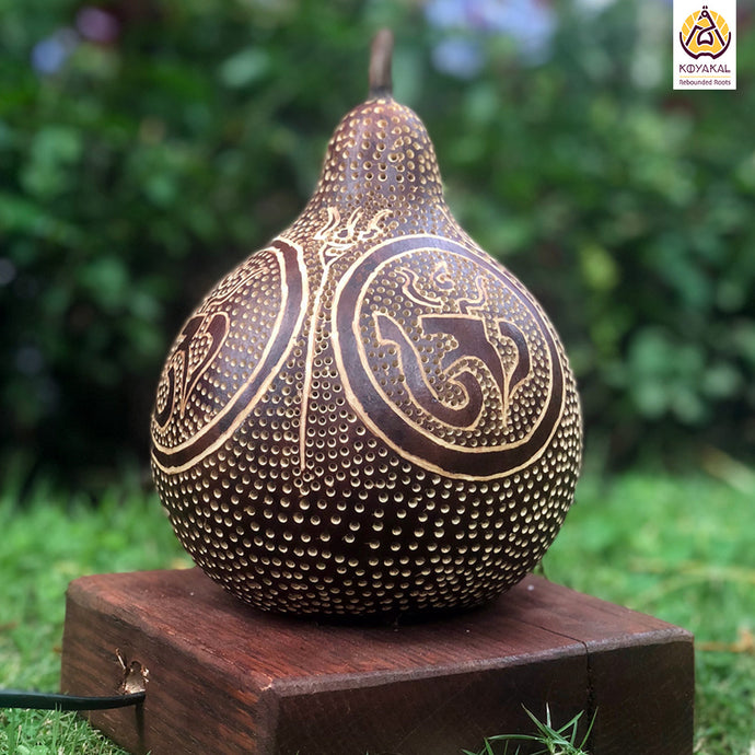 Perfect Gift | Unique Gifts for her | Valentine's Day Gifts | Om | Aum | Spiritual Gifts | Best Birthday Gifts 2019 | Handicrafts | Handmade | Ecofriendly Products | Gifts for Him | Anniversary Gifts | Organic Homes | Gourd Lamps | Table Lamps | Koyaka Craft | Natural Gifts | DIY | Shopify