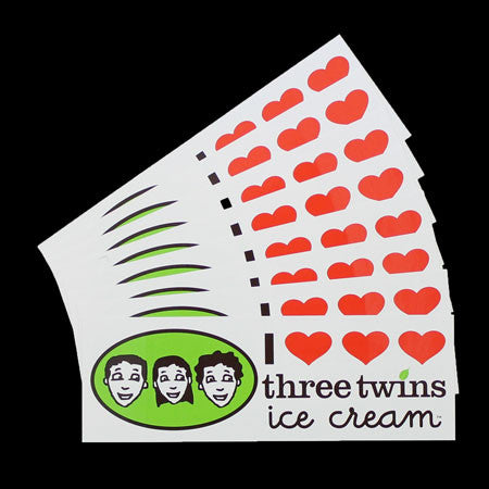 Three Twins Bumper Sticker