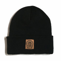 MOSAIK Chief Black/Tan Beanie