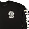 MOSAIK Work Chief Black/White Long Sleeve T-Shirt