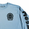 MOSAIK Work Chief Light Blue/Black Long Sleeve T-Shirt Limited Edition
