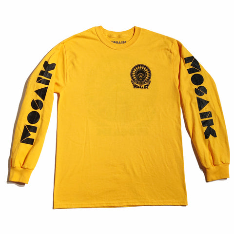 MOSAIK Work Chief Gold/Black Long Sleeve T-Shirt Limited Edition