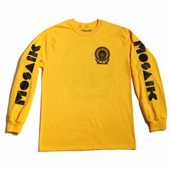 MOSAIK Work Chief Gold/Black Long Sleeve T-Shirt Limited Edition - Medium