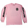 MOSAIK Work Chief Light Pink/Black Long Sleeve T-Shirt Limited Edition