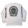 MOSAIK Work Chief White/Black Long Sleeve T-Shirt