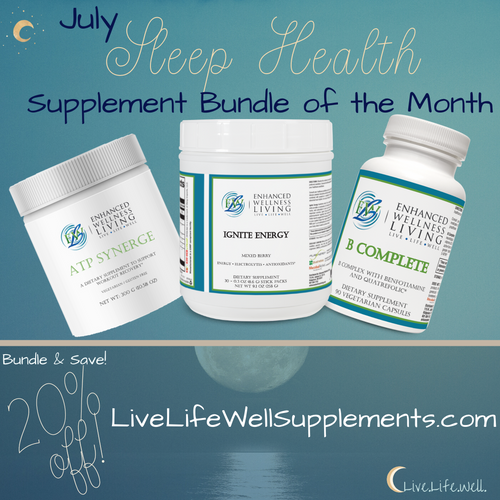 Healthy Sleep + Energy Boosting Supplements of the Month!