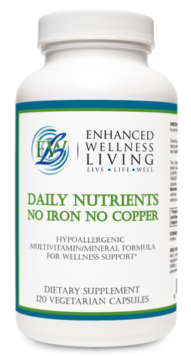 Daily Nutrients, No Iron No Copper Multivitamin