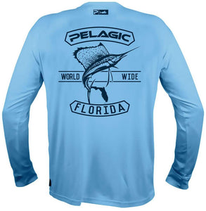 Pelagic Aquatek Florida Wide Long Sleeve Shirt - Medium