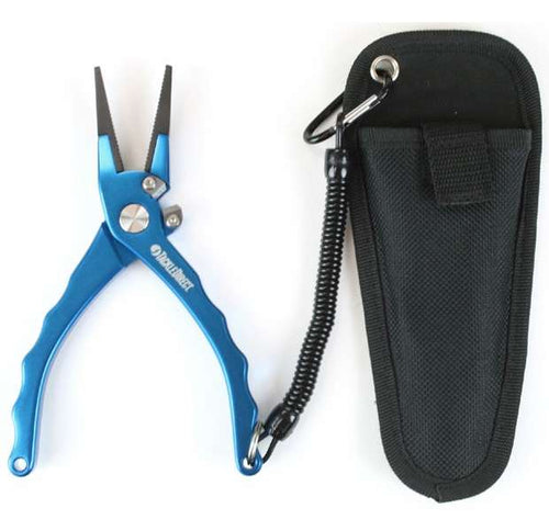 TackleDirect TDPL75BL 7.5in Custom Aluminum Offshore Plier Blue