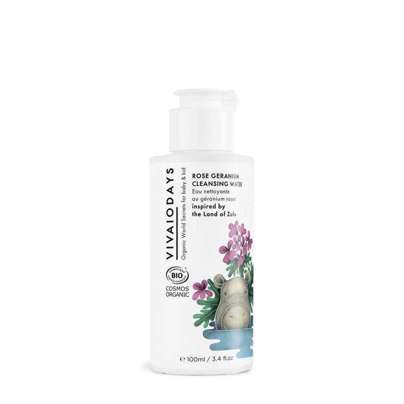 Rose Geranium Cleansing Water