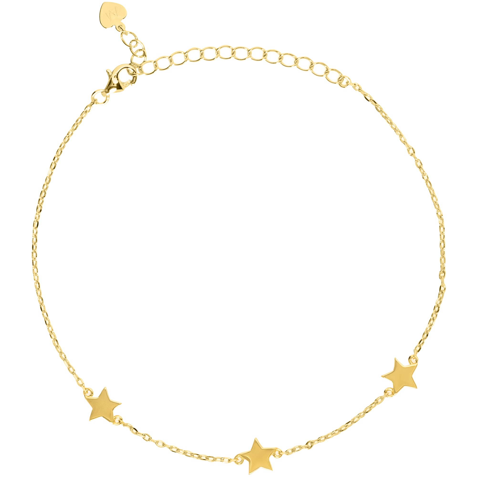 Three Star Anklet