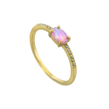 Alessia Opal Ring