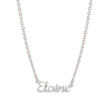 Script Multi Name Necklace