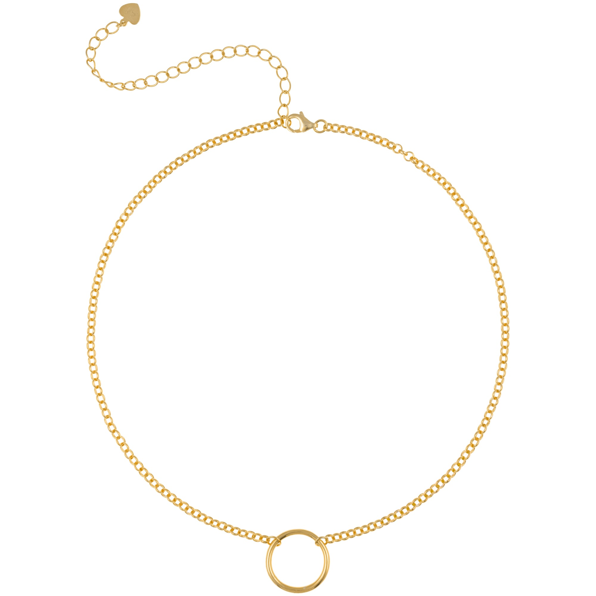 Mini Open Circle Choker