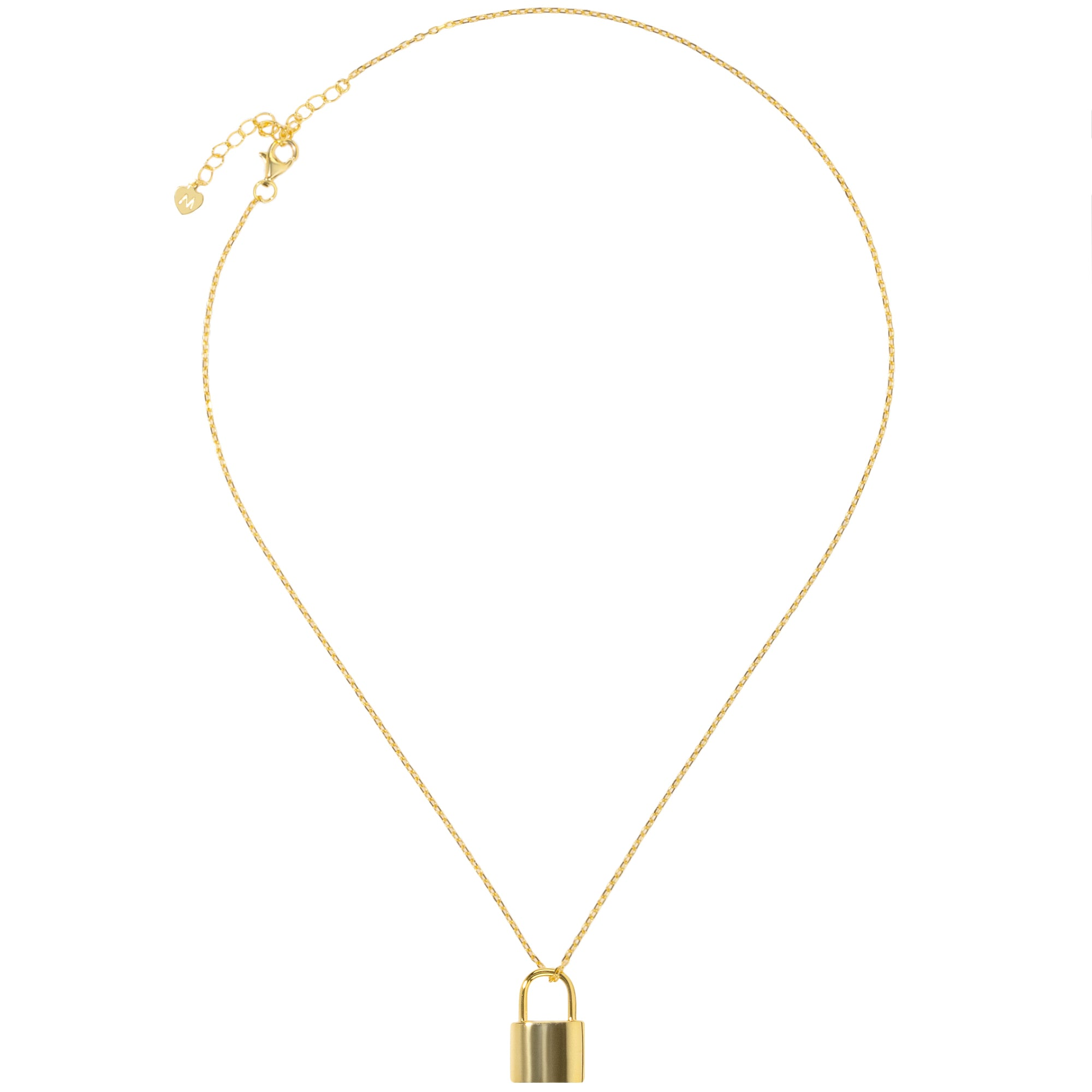 gold lyst jewelry gallery in chanel metallic cc lock pendant necklace