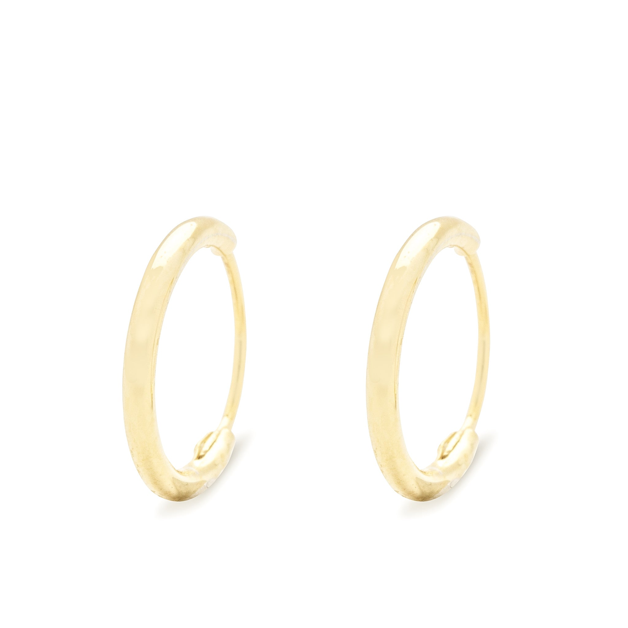 Smooth Mini Hoop Earring