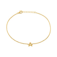 Single Initial Anklet