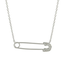 Safety Pin Necklace