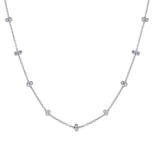 Multi Double CZ Necklace