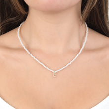 Pearls Initial Necklace
