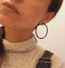 Thin Tortoise Shell Hoops