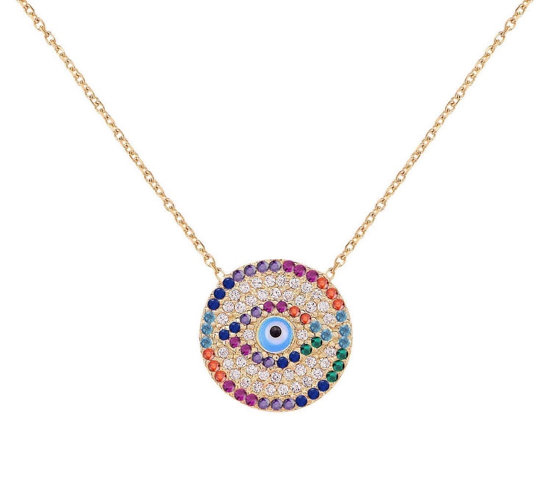 Bright Eye Necklace