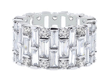 Round Baguette Eternity Ring