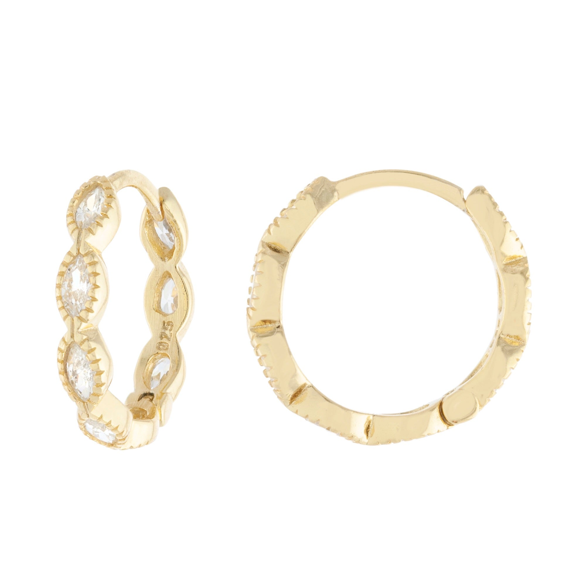 Oval Mini Hoops