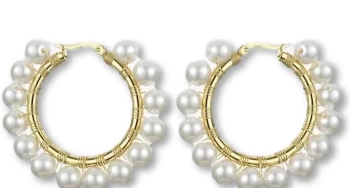 Alona Hoop Earrings
