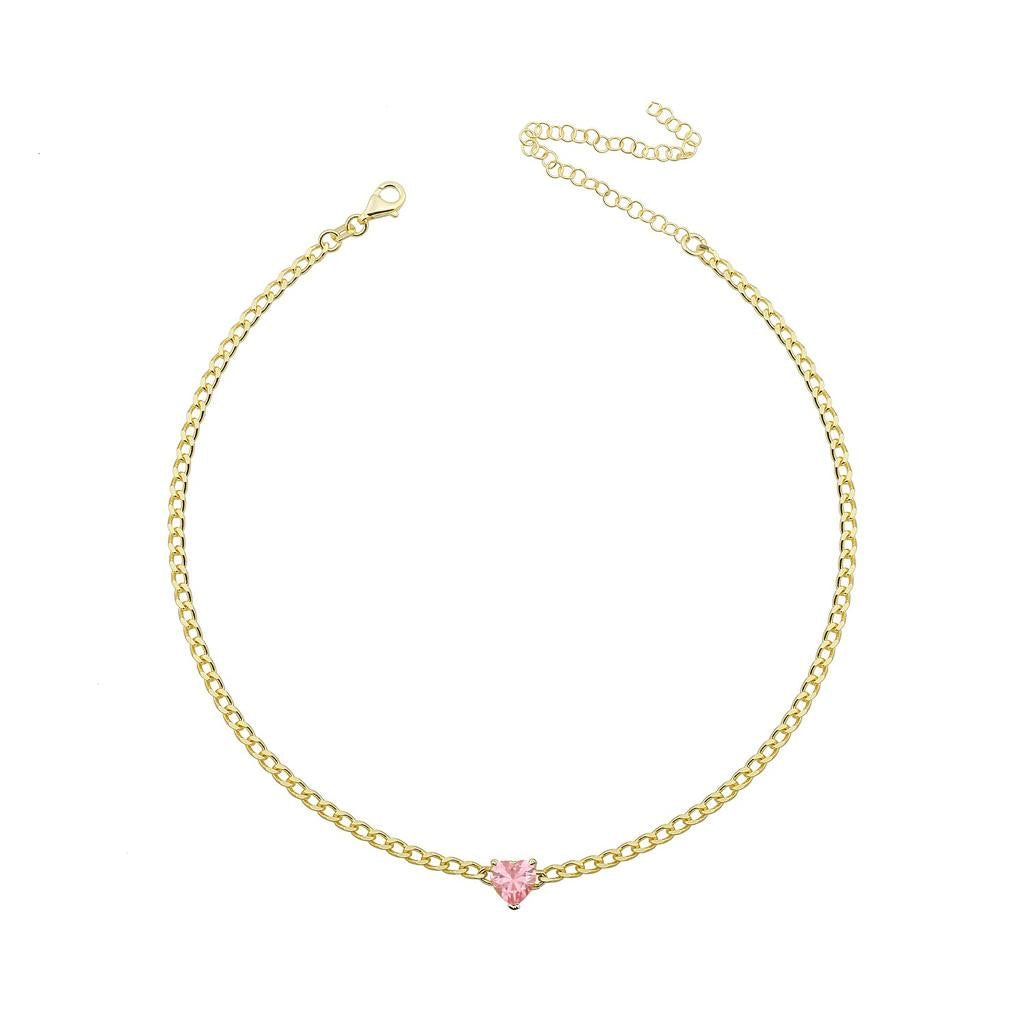 Gloria Heart Choker