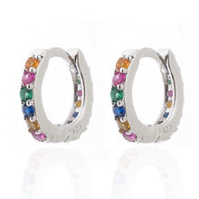 Rainbow Mini Hoops