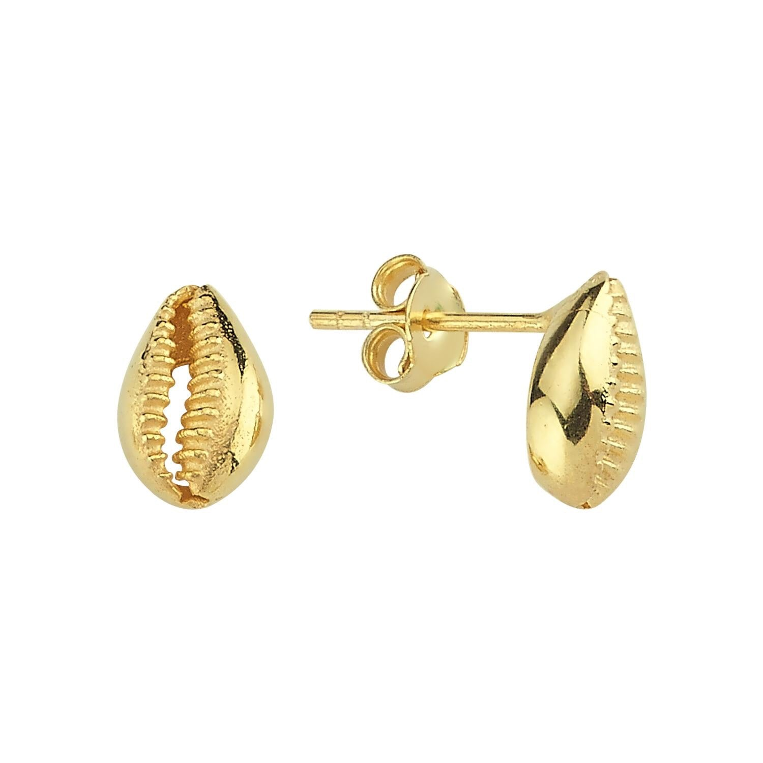 Cowrie Shell Stud